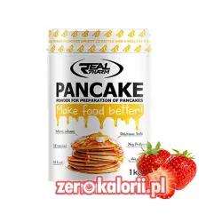 Pancakes Real Pharm 1kg Smak Truskawka - Wysoko białkowe naleśniki