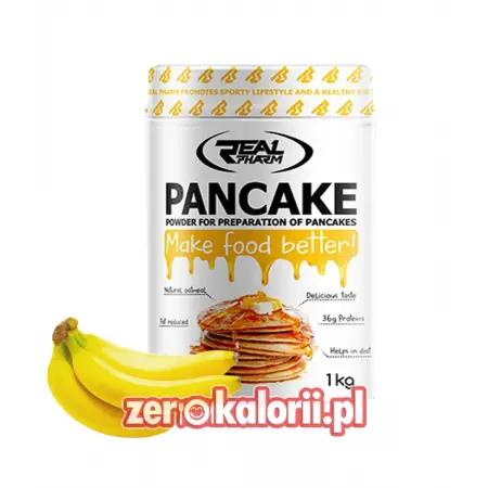 Pancakes Real Pharm 1kg Smak Banan - Wysoko białkowe naleśniki