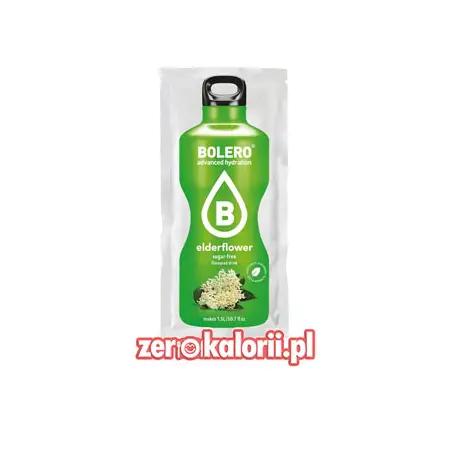 Napój Bolero słodzony Stewią MIX w proszku - Elderflower
