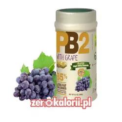 Odtłuszczone Masło Orzechowe PB2 z WINOGRONAMI 184g w proszku
