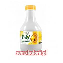 Olej słonecznikowy extra virgin 500ml Ostrovit EKO BIO