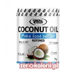 Olej Kokosowy 1kg 100% Rafinowany RealPharm