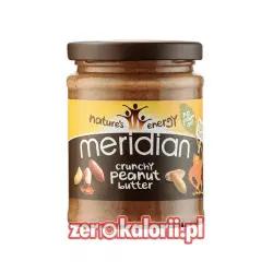 Masło Orzechowe Crunchy Meridian 283g 100 % Orzechów