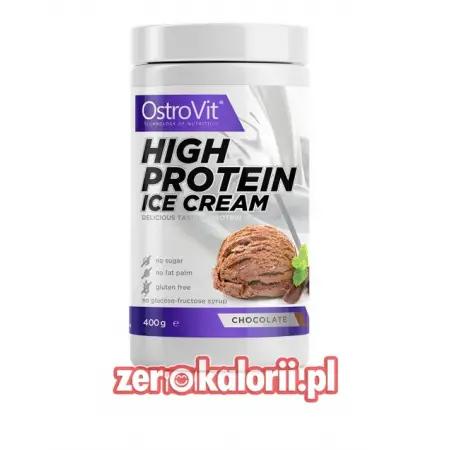 High Protein Ice Cream 400g Ostrovit, Lody Białkowe