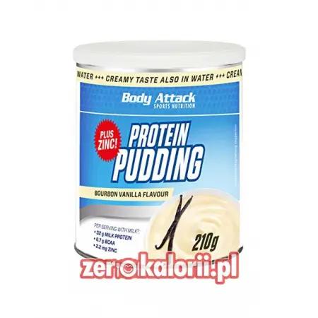 Pudding Białkowy Wanilia 210g Body Attack