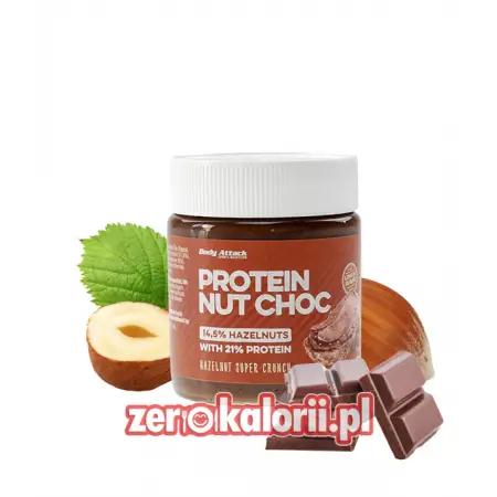 Krem Orzechowy Protein Nut Choc CRUNCHY 250g Body Attack