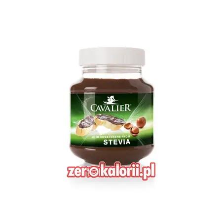 Krem Czekoladowo-Orzechowy BEZ CUKRU 380g Cavalier ze Stewią