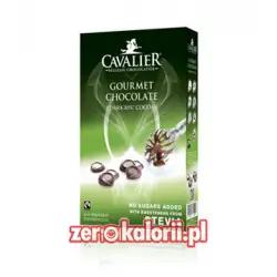 Czekolada na gorąco ze Stewią, bez cukru, 300g Cavalier 89% kakao