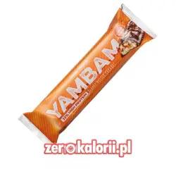 YamBam Peanut Butter Caramel Baton Białkowy 80g, BodyAttack
