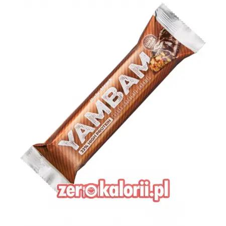 YamBam Cunky Chocolate Caramel Baton Białkowy 80g, BodyAttack
