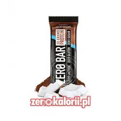 Zero Bar Biotech 50g - Czekolada - Kokos