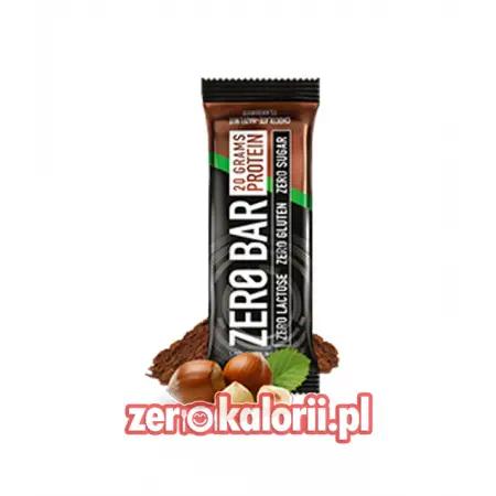 Zero Bar Biotech 50g - Czekolada - Orzech Laskowy