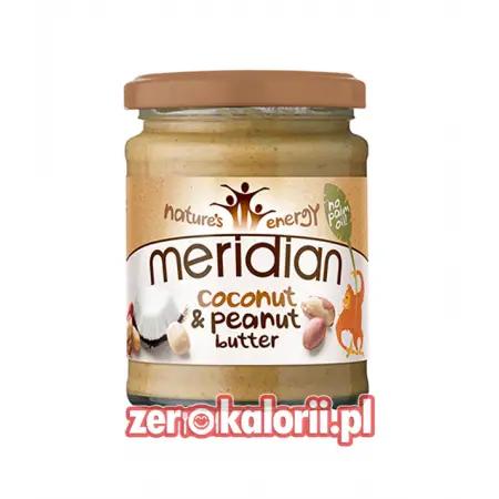 Masło Orzechowo Kokosowe 280g Meridian Cocount&Peanut