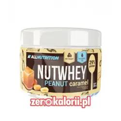 NutWhey Peanut Caramel 500g - Krem Czekoladowy z Karmelem All Nutrition