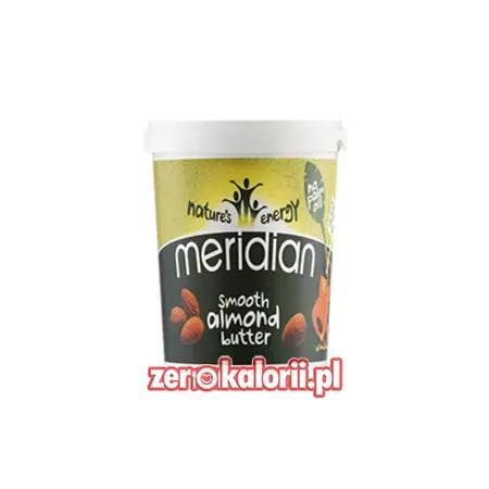 Masło Migdałowe Smooth Meridian 454g 100 % Migdałów
