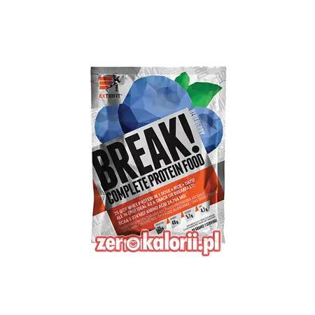 BREAK! Complete Protein Food JAGODA 90g Extrifit - 25g Białka