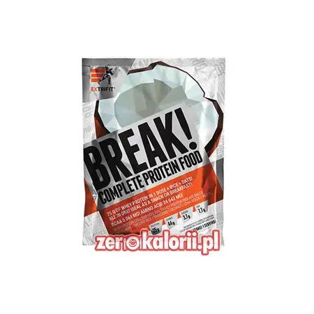 BREAK! Complete Protein Food KOKOS 90g Extrifit - 25g Białka