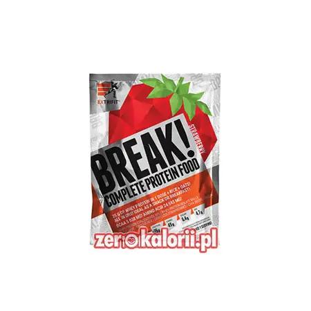 BREAK! Complete Protein Food TRUSKAWKA 90g Extrifit - 25g Białka
