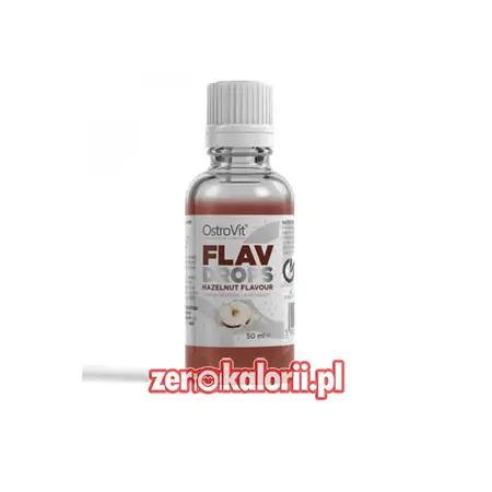 Flav Drops Hazelnut 50ml Ostrovit - aromat Orzech Laskowy