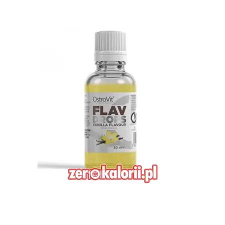 Flav Drops Vanilia 50ml Ostrovit - aromat Waniliowy