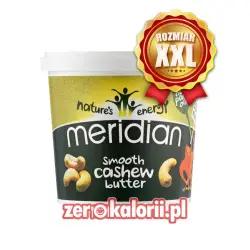 Masło z Nerkowców Smooth Meridian 1000g XXL 100 % Nerkowców