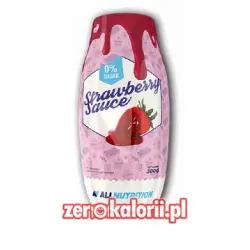 Sos Strawberry Sauce ZERO % ALLNUTRITION 300g