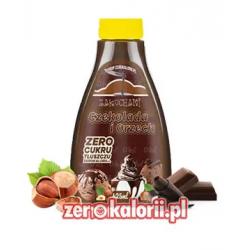 Zakochani Czekolada i Orzech 425ml - Syrop Zero Kalorii