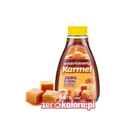Zwariowany Karmel 425ml - Syrop ZeroKalorii.pl