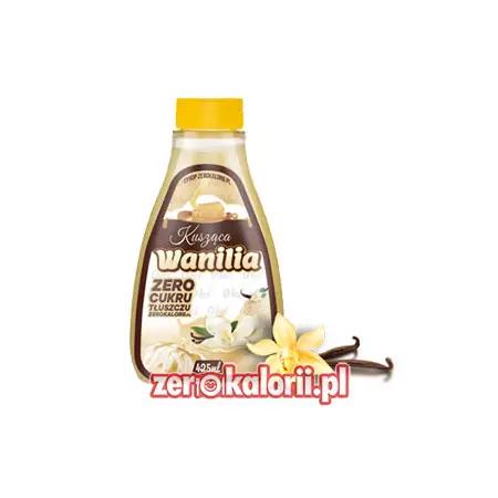 Kusząca Wanilia 425ml - Syrop ZeroKalorii.pl