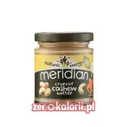 Masło z Nerkowców Crunchy 170g Meridian 100 % Nerkowców