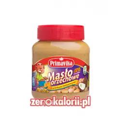 Masło orzechowe z wiórkami kokosowymi 350g Primavika