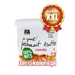 Masło Orzechowe Crunchy FA XXL 100 % Orzechów