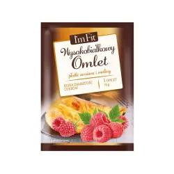 I'm Fit - Wysokobiałkowy omlet płatki owsiane i maliny 70g, Activlab