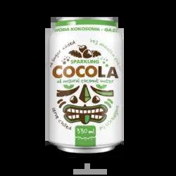 CocoLa Gazowana naturalna woda kokosowa w puszce 330ml ,Diet-Food