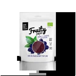 Papier owocowy 100% BIO Czarna Porzeczka 30g Diet-Food