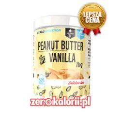 Peanut Butter Vanilla 1KG, AllNutrition Delicious Line