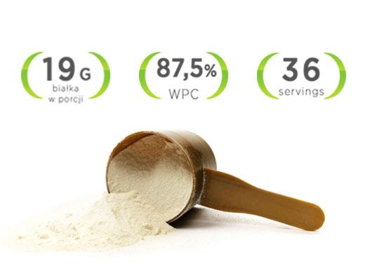 naturalne białko serwatkowe