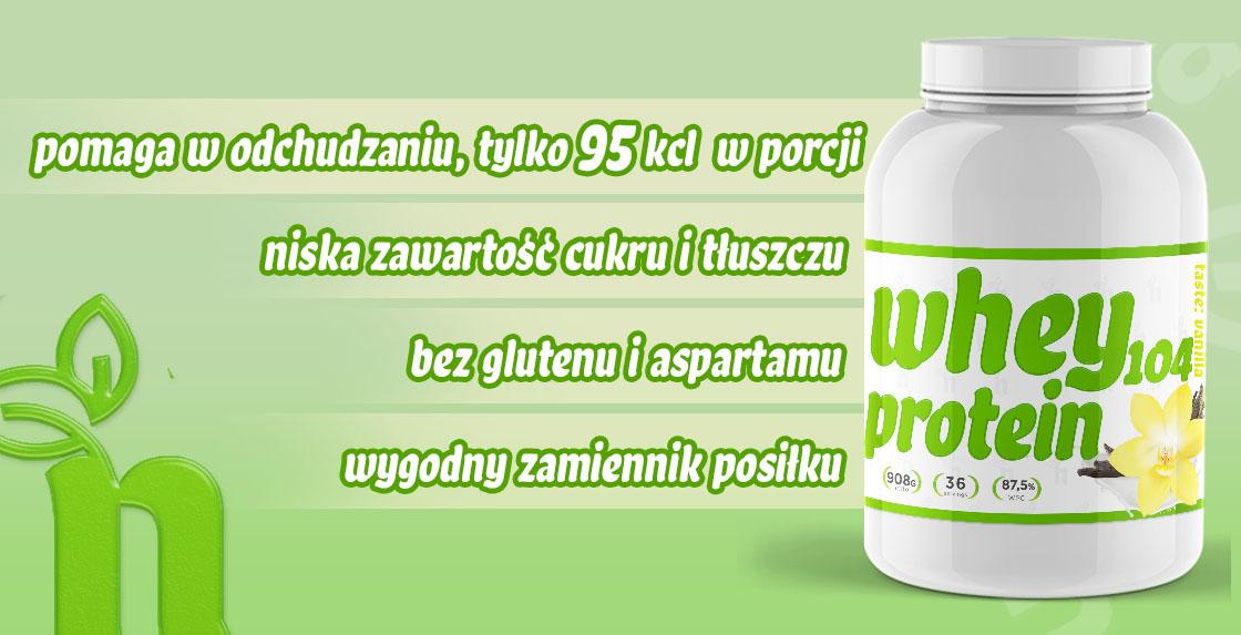 Whey Protein 104 - koktajl białkowy