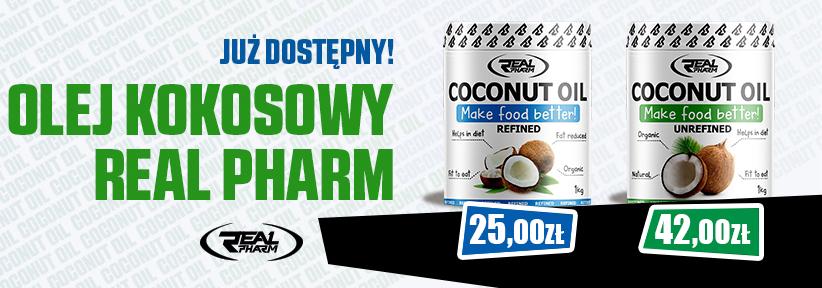 Oleje kokosowe Real pharm