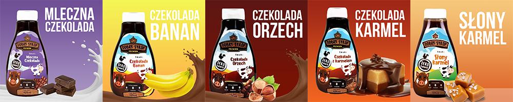 nowe syropy wk smaki czekoladowe