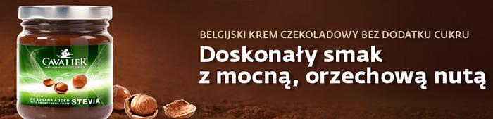 Krem Czekoladowo Orzechowy Cavalier Stevia