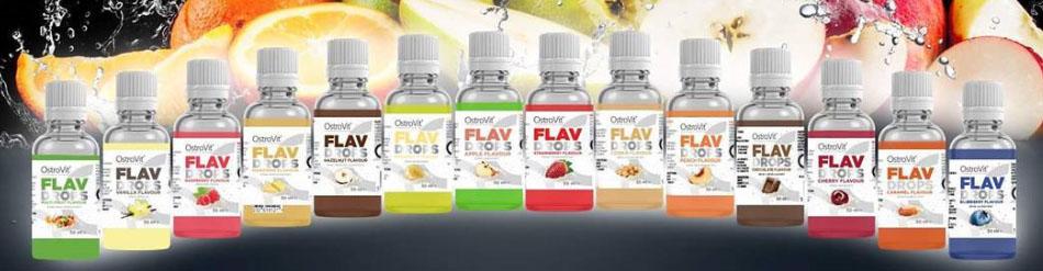 Aromaty Flav Drops Ostrovit