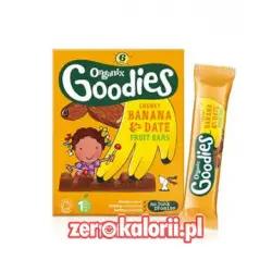 Batoniki Organiczne daktylowe Goodies z bananem 17g BIO EKO