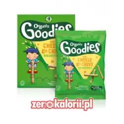 Mini krakersy serowe ze szczypiorkiem Goodies 20g BIO EKO