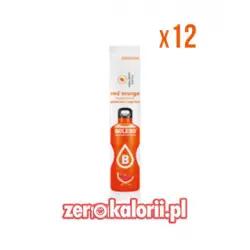Bolero STICK słodzony Stewią MIX w proszku - CZERWONA POMARAŃCZA 12PAK