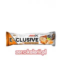 Exclusive Protein Bar MASŁO ORZECHOWE-CIASTKO 85g, Amix Nutrition