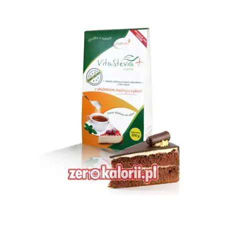 Erytrytol + Stewia 200g, z dodatkiem inuliny VitaStevia