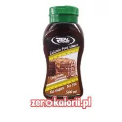 Syrop Czekoladowo Karmelowy 500ml, Real Pharm