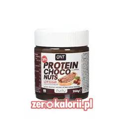 Protein Choco Nuts 250g, QNT Kream czekoladowy z Orzechami bez cukru
