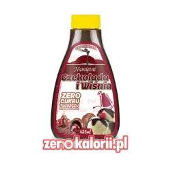 Namiętni Czekolada i Wiśnia 425ml - Syrop ZeroKalorii.pl